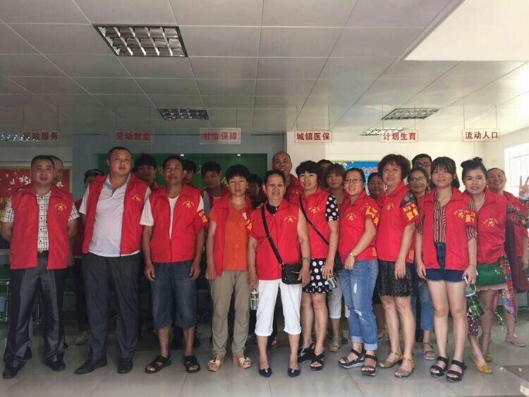 """红袖章飘起来_龙昆南社区组织社区""""双创""""工作志愿者开展志愿服务活动"""